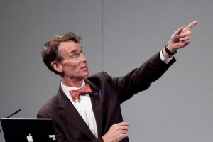 """Bill Nye """"The Science Guy"""" Photo by Ed Schipul"""