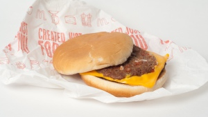 Mmmm, nothing like the meat of a hundred different cows all under one bun.